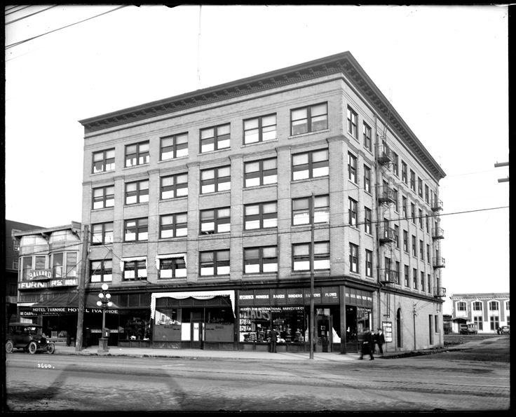 Ivanhoe Hotel Vancouver History