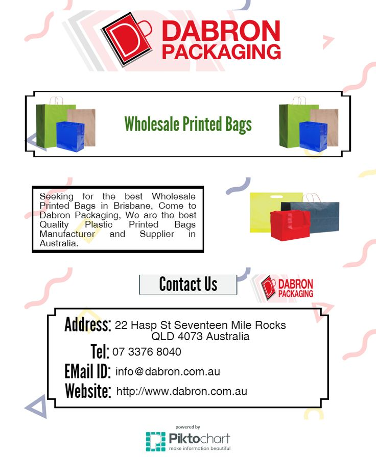 Come and Get the best Wholesale Printed Bags in Brisbane.
