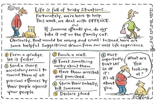 Sunday, September 16, 2012. Illustration: Cathy Wilcox