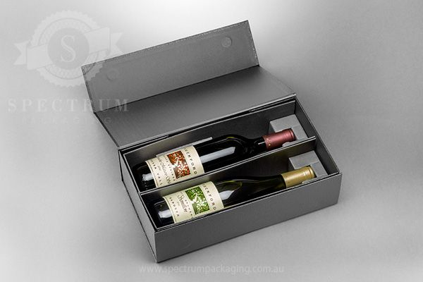 Corporate Wine Packaging from a custom wine packaging specialist. For more than a decade Spectrum Packaging have forged their reputation for premium packaging through designing, engineering and mass producing customised / be-spoke packaging for wine, spirits, cosmetics, olive oil, & food industry clients. Spectrum Packaging have recently designed & developed a selection of Prestige Packaging …
