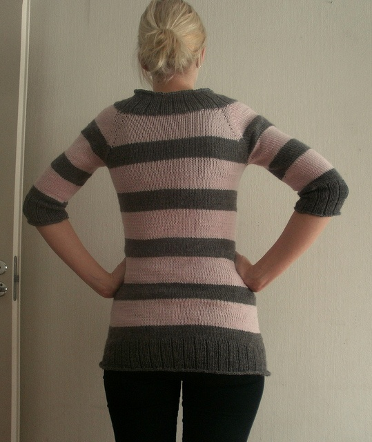 Swinging Stripes Cardigan by Jenn Pellerin