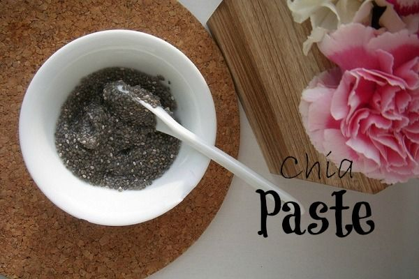 Chia Paste on http://www.goodgirlgonegreen.com