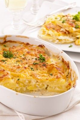 Easy Cheesy Scalloped Potatoes