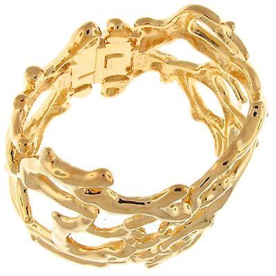 Кеннет Джей Лейн сатин золото ссылка Bib манжеты браслет | Fruugo