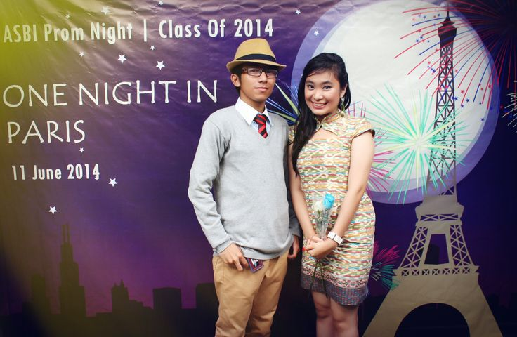 Prom Nite ASBI Bogor   One Night in PARIS  Me and Grace Chandra