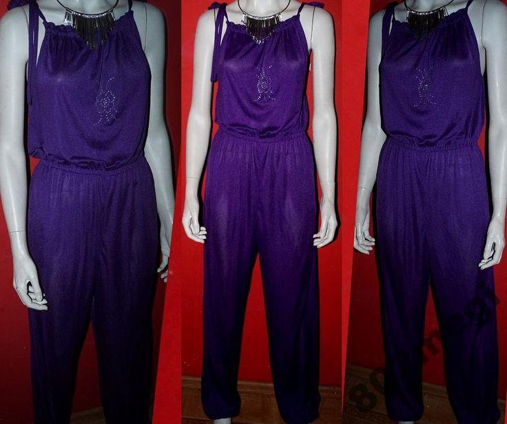 Kombinezon ORYGINALNY stylowy fiolet 42-44 (5292482906) - Allegro.pl - Więcej niż aukcje.