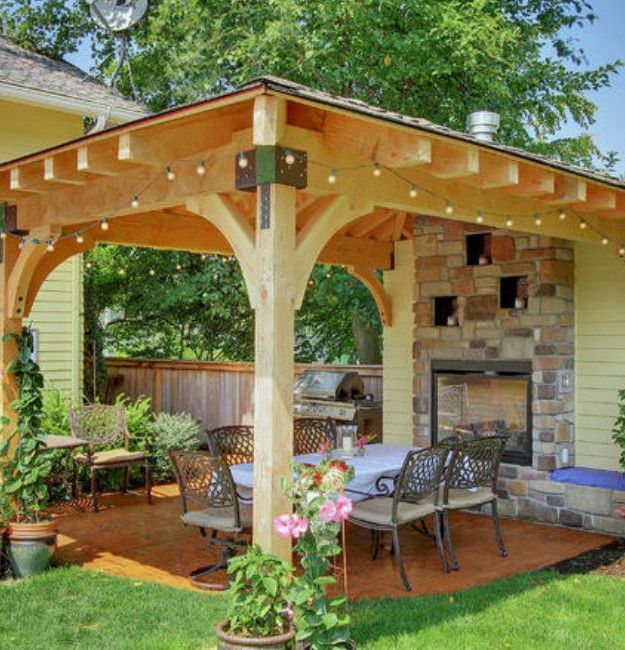 8 best pergola roof ideas images on pinterest | patio ideas ... - Small Covered Patio Ideas