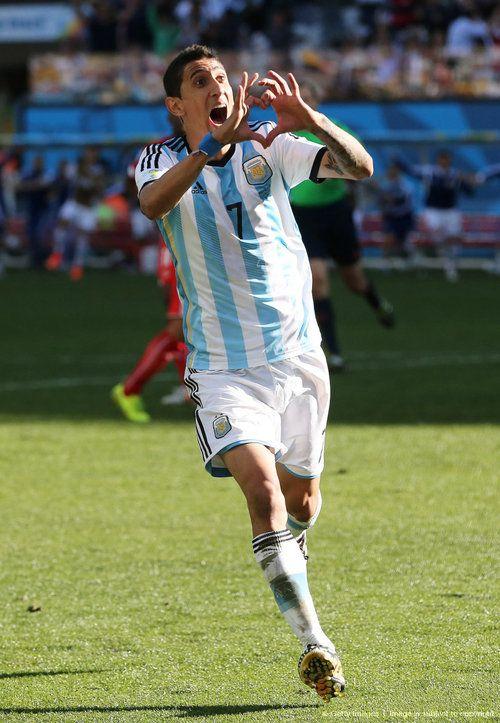 Argentina vs Switzerland 1:0