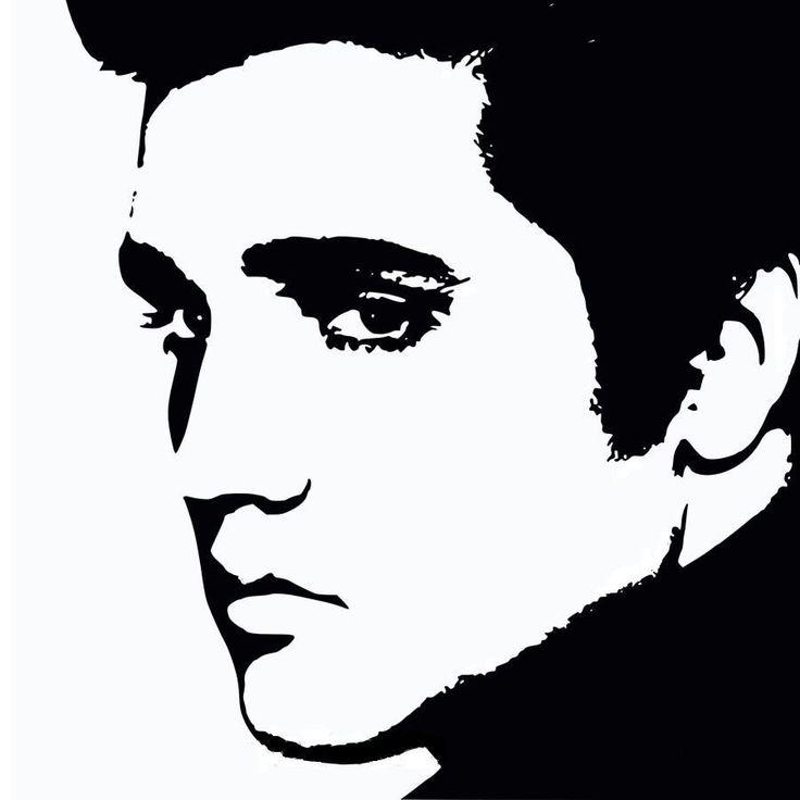 Elvis Presley Face Silhouette \x3cb\x3eelvis silhouette\x3c/b\x3e ...