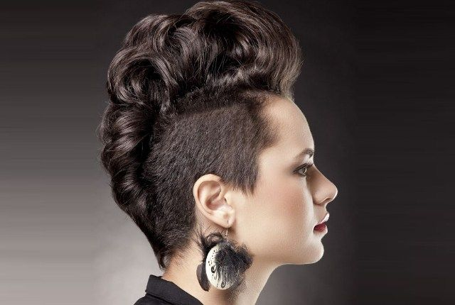 1000+ Ideas About Short Punk Hairstyles On Pinterest
