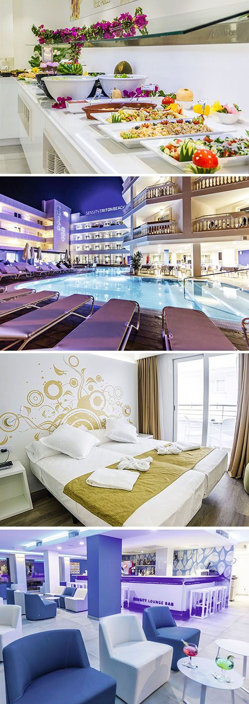 Wow, in dit designhotel met zwembad en chill-out terras is ontspannen geen opgave. Het strand ligt om de hoek van het viersterren adults only hotel, evenals bars, restaurants en discotheken. Een bruisende vakantie op Mallorca gegarandeerd!