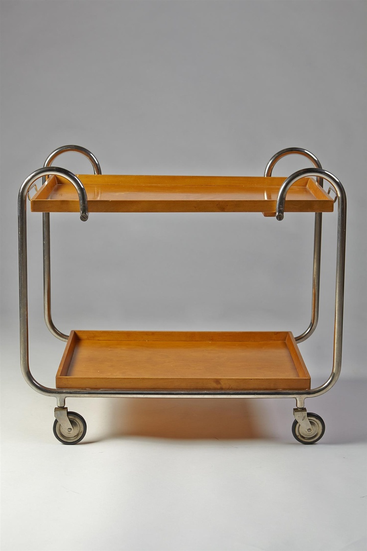 Tea trolley, Swedish. 1930s.