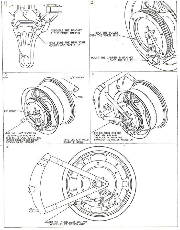 22 best springer fork images on pinterest custom bikes custom rh pinterest com Basic Harley Wiring Diagram Harley-Davidson Parts Diagram