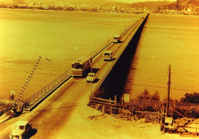 El Puente Enrique Curti, conocido como Puente carretero ó Puente viejo por los años 60 ó 70 by Alfotor, via Flickr