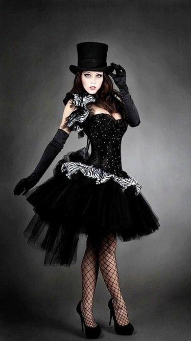 black tutu beautiful idea.