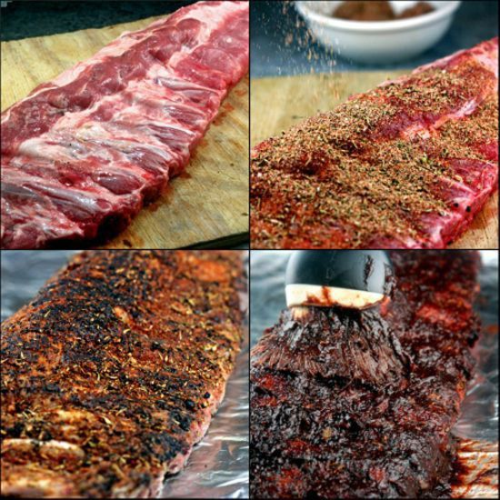 Amazing Dry Rub Oven Roasted 'Fall off the Bone' Ribs and easy homemade BBQ Sauce with a secret ingredient that takes it over the top1