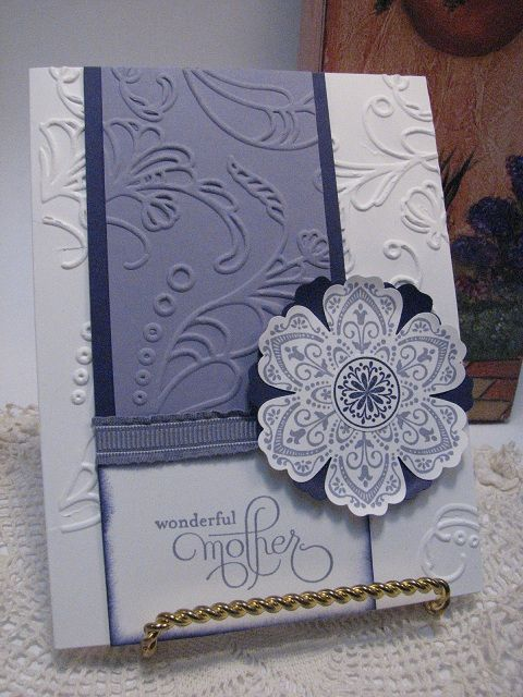 Mother's Day Card: Cards Father, Embossing Cards, Scrapbook Cards, Cards Stamps, Scrapbooking Cards, Cards Cathy, Cards Designs Tutorials, Cards Mothers S Father, Mothers Day Cards