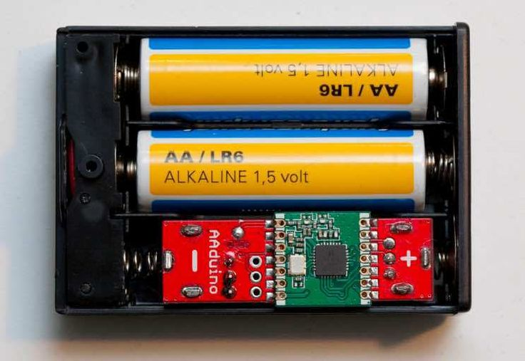 A clever design for a pint-sized, wireless Arduino that also turns a battery holder into a project box.