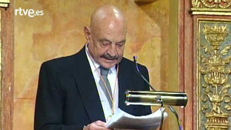 El discurso de José Hierro tras recibir el Premio Cervantes (1998)