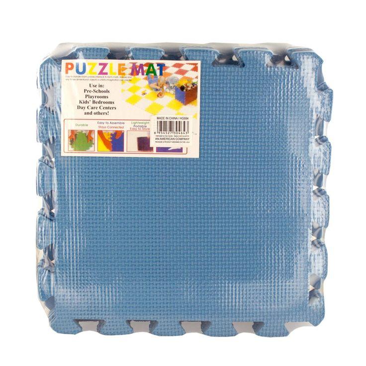 Puzzle Foam Floor Mat - 6 - Units