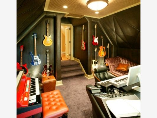 Home Music Room for Your Inspiration - Home and Garden Design Ideas