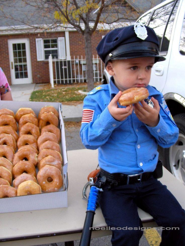 Adorable Policeman Costume for kids