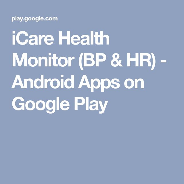 iCare Health Monitor (BP & HR) - Android Apps on Google Play