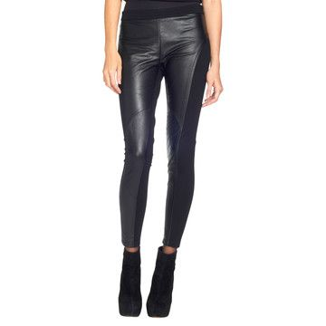 Wyona Leather Legging Black, $325, now featured on Fab. I haven't worn these since I was a punk rocker!