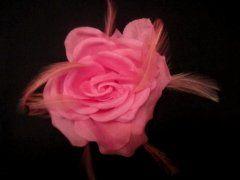 Single Silk Rose - Pink