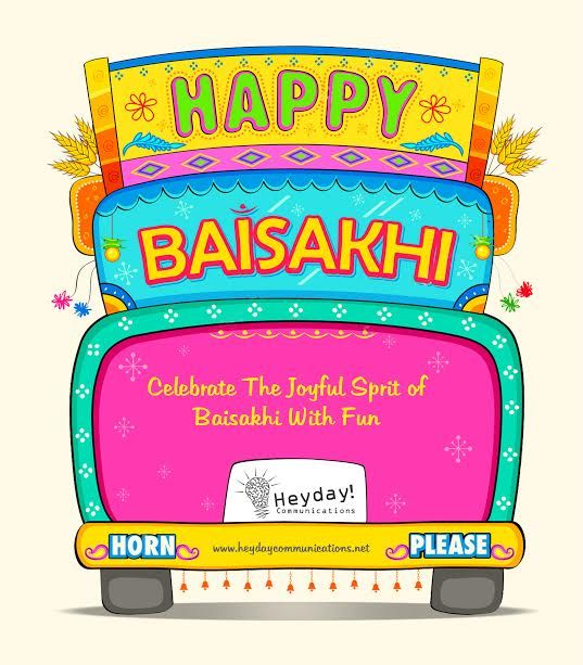 #Happy #Baisakhi #HeydayCommunications #Advertising #Agency #Creative #DigitalMedia  #Media #PrintElectronicMedia #DigitalMarketing