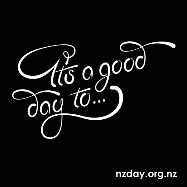 Custom type for NZ Day by Kate Hursthouse - nzday.org.nz