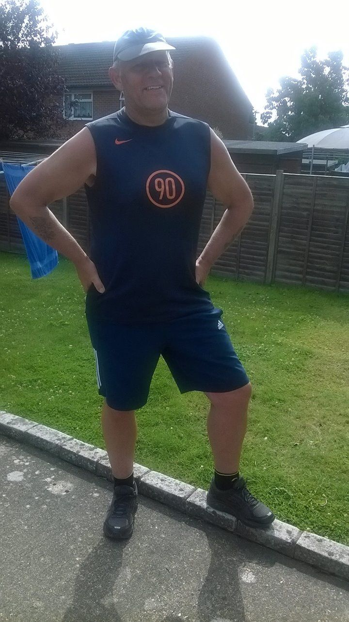 I'm a little tea pot short and stout, here's my handle and here's my......err....other handle ? 😂 Smiley face after a 5 mile trot, training for the Great South Run in support of the RBL. Dig deep, begging messages will be sent between now and October 22 🏃🍺 Constantly