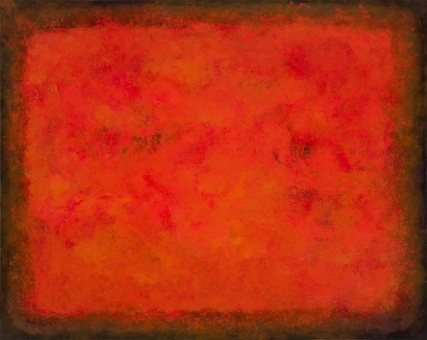 """Day o' Dad's"" - Amelia Father's Day 3240 Oil on Canvas Sam Roloff Persimmon Series 2012 SOLD"