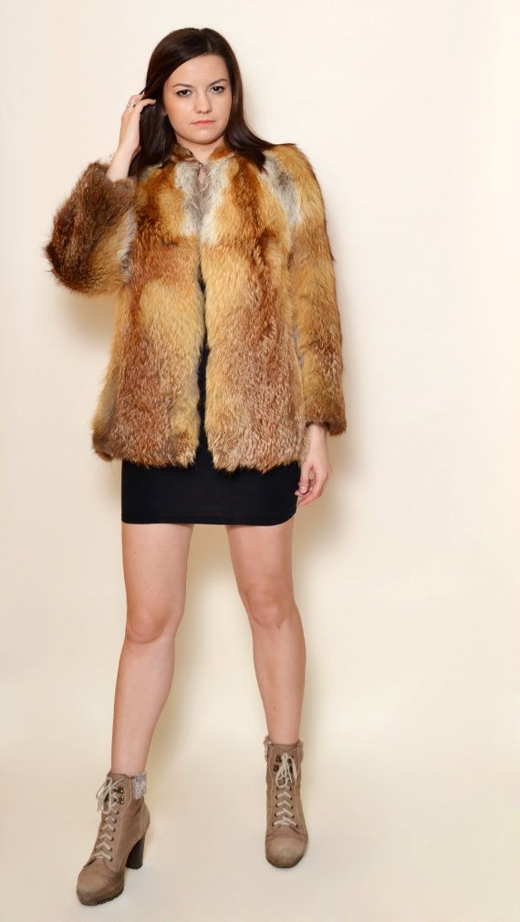 40% Off Xmas Sale Vintage Fox Fur/ 90's fur by SixVintageChicks