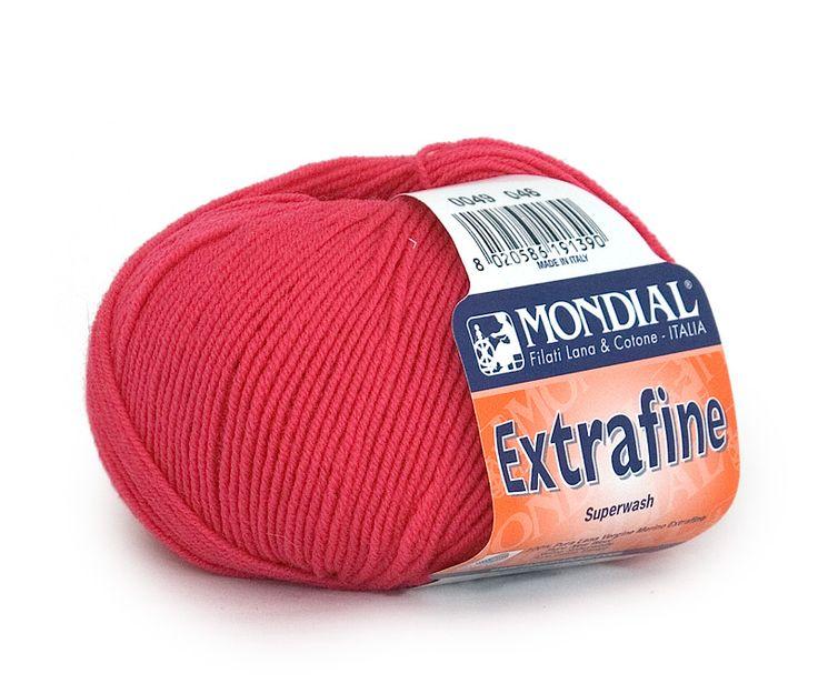 włóczka Extrafine Mondial : włóczka Extrafine Mondial 049