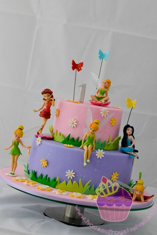 Top 25+ best Tinkerbell birthday cakes ideas on Pinterest ...