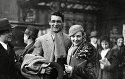 Cary Grant with 1st wife actress Virginia Cherrill They were married 1934-1935.