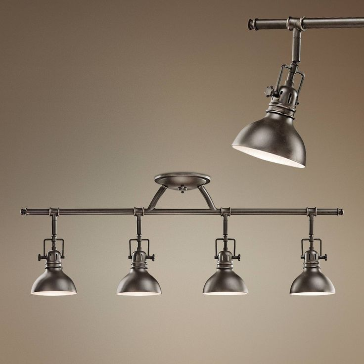 Kichler Old Bronze 31 1 2 Wide Swivel Ceiling Fixture