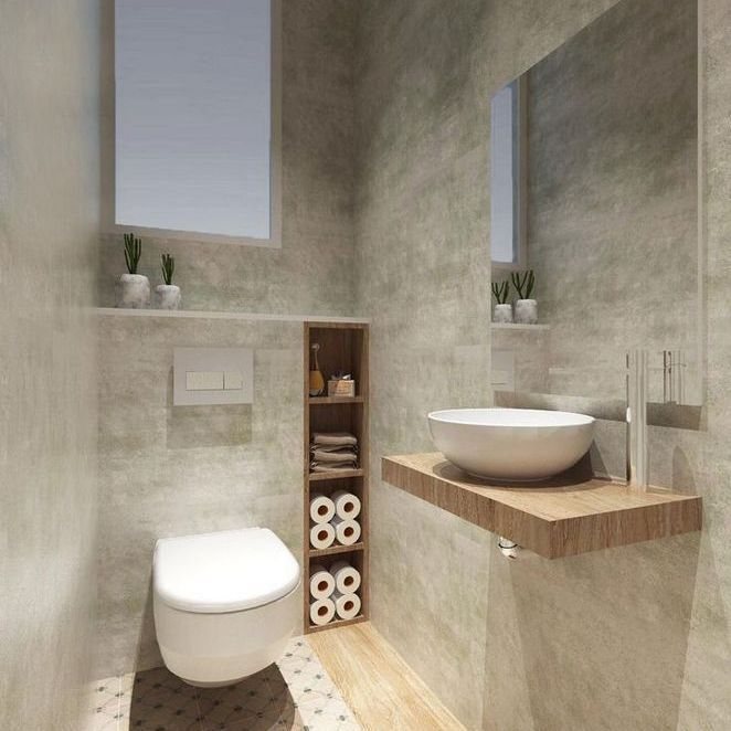 37 Space Saving Toilet Design For Small Bathroom Secrets Homedecorsdesign Smallwcroomdesi Bathroom Design Small Space Saving Toilet Small Downstairs Toilet