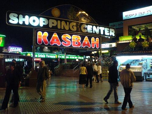 Kasbah Shopping Centre - Best of the trashy Playa Del Ingles Disco Bars