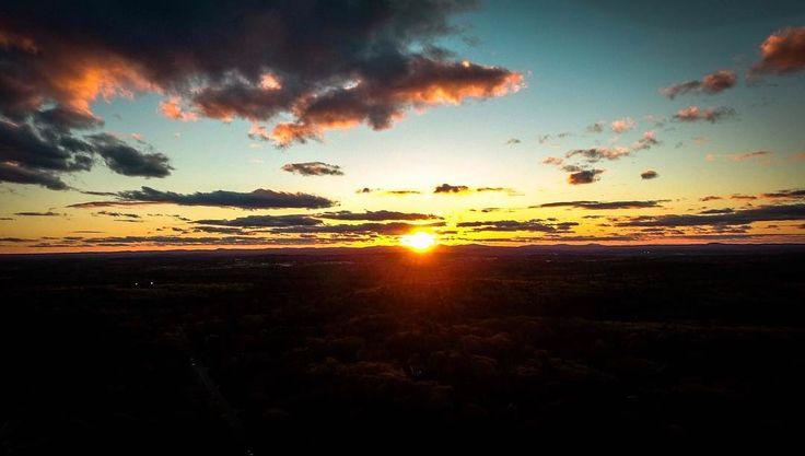 Amazing sunset tonight over NH  #sunset