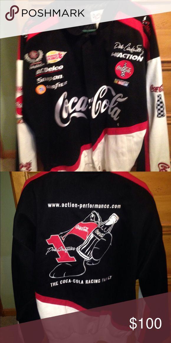 Dale Earnhardt Jr sports jacket Gently used. Great condition. NASCAR driver Dale Earnhardt sports jacket Jackets & Coats Bomber & Varsity