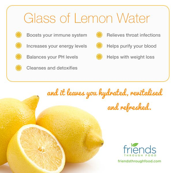 The benefits of a Glass of Lemon Water  We have a mug of warm lemon juice first thing in the morning. It really jump starts your body