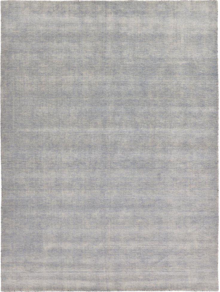 Gray 9' 10 x 13' Solid Gabbeh Rug | Oriental Rugs | iRugs UK