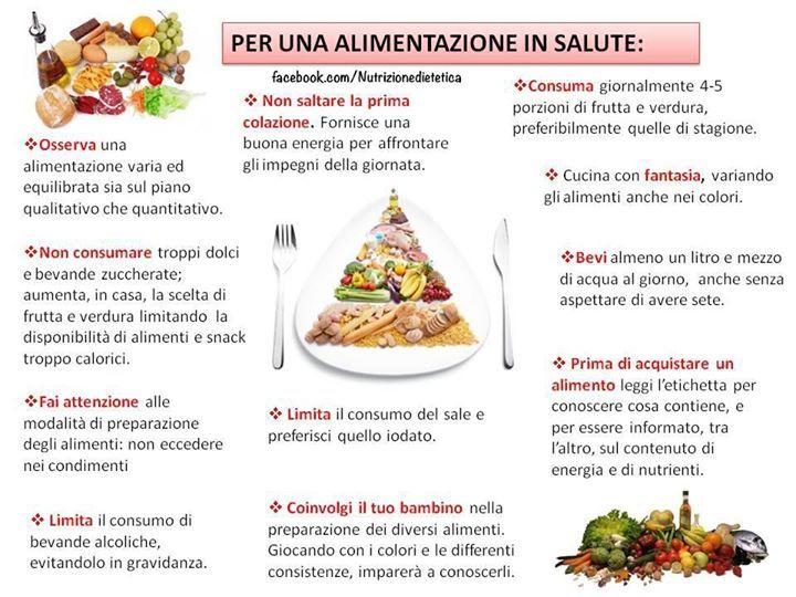 Per una alimentazione in salute