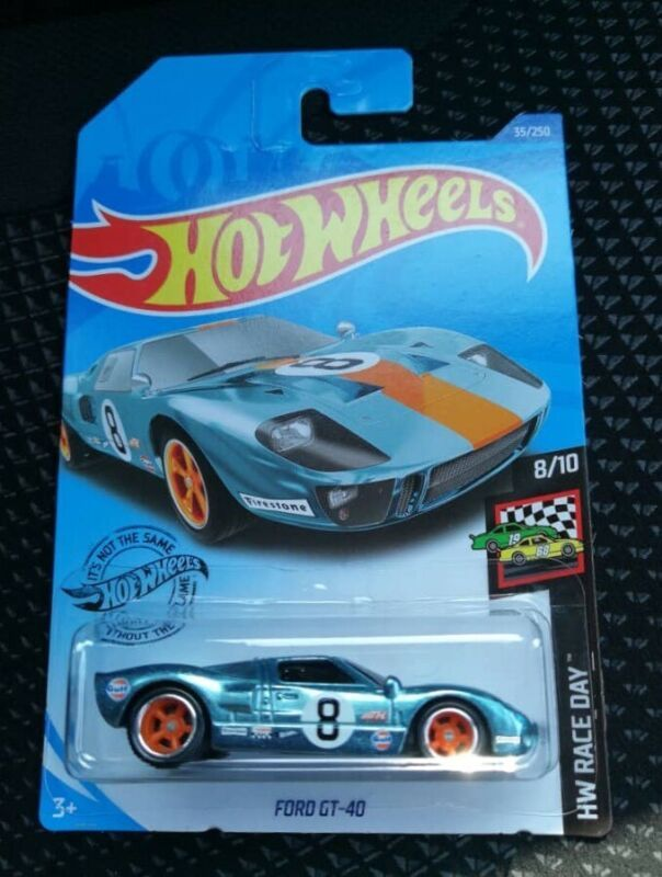 For Sale Hot Wheels 2020 Super Treasure Hunt Ford Gt40 Gulf