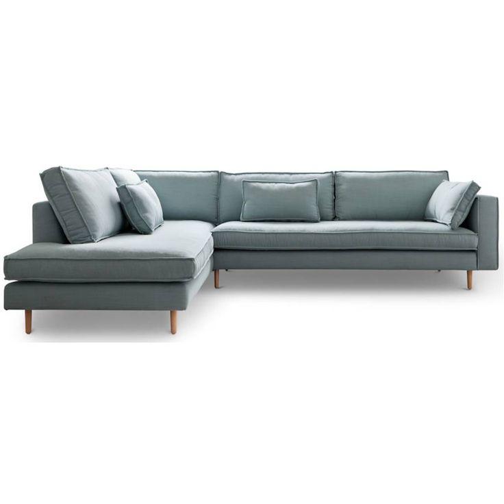 De Hoekbank Sara heeft een authentiek en minimalistisch design! De rijkgevulde kussens zorgen voor een lekker zitbeleving. De stoere uitstraling heeft de bank S