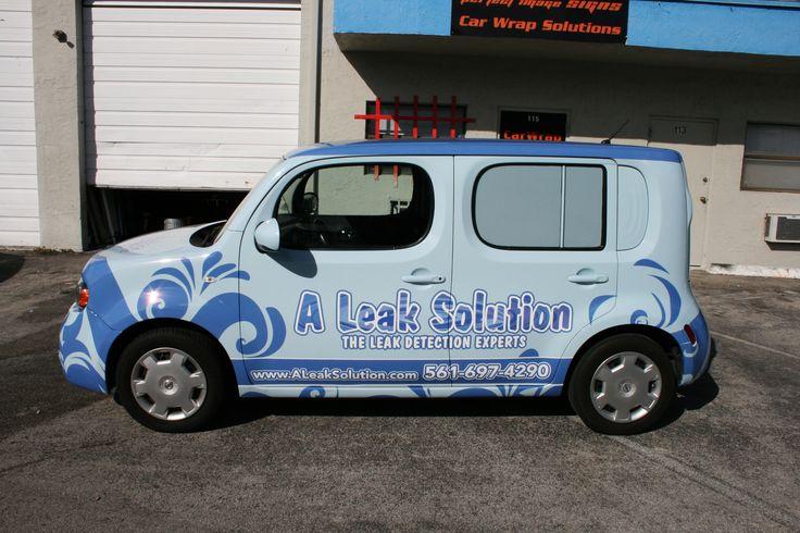 Nissan Cube Car Wrap Fort Lauderdale Florida. http