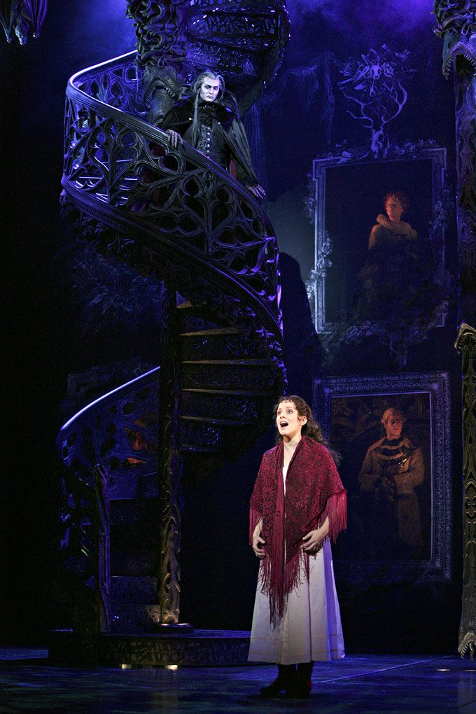 """Tanz der Vampire Das Musical. """"totale finsternis"""" is seriously amazing. It has the same tune as """"total eclipse of the heart"""" because Jim Steinman composed the song & this musical. Seriously watch a video of this on YouTube :)"""