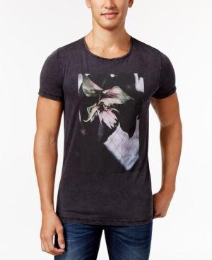 Hugo Boss Orange Men's Torvind Graphic-Print T-Shirt - Black XXL